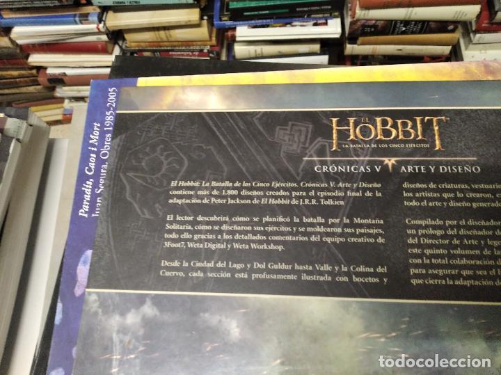 Libros de segunda mano: COLECCIÓN COMPLETA EL HOBBIT . CRÓNICAS . 6 TOMOS + MAPS OF TOLKIENS + EL MUNDO DE TOLKIEN - Foto 113 - 210151335
