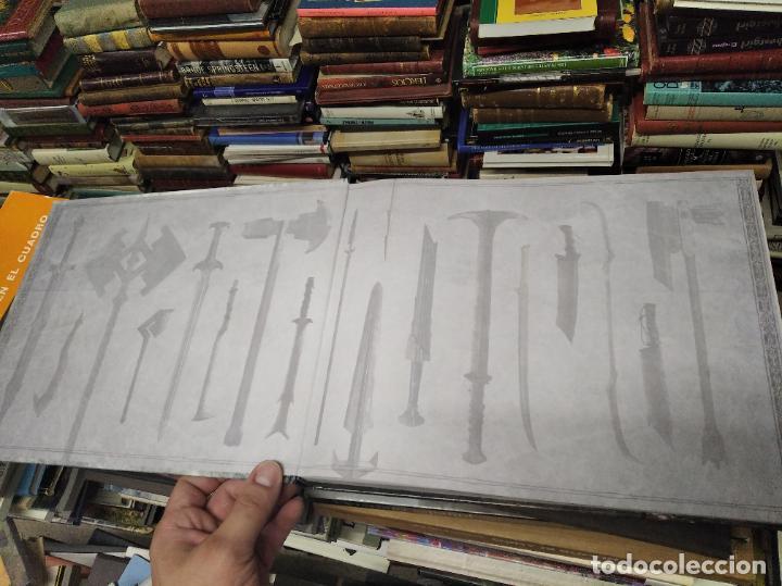 Libros de segunda mano: COLECCIÓN COMPLETA EL HOBBIT . CRÓNICAS . 6 TOMOS + MAPS OF TOLKIENS + EL MUNDO DE TOLKIEN - Foto 116 - 210151335