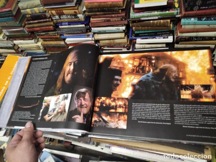 Libros de segunda mano: COLECCIÓN COMPLETA EL HOBBIT . CRÓNICAS . 6 TOMOS + MAPS OF TOLKIENS + EL MUNDO DE TOLKIEN - Foto 120 - 210151335