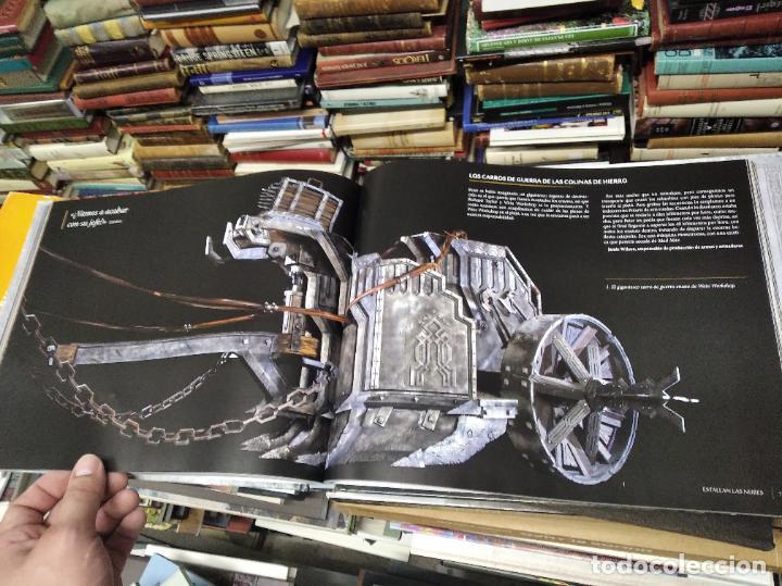 Libros de segunda mano: COLECCIÓN COMPLETA EL HOBBIT . CRÓNICAS . 6 TOMOS + MAPS OF TOLKIENS + EL MUNDO DE TOLKIEN - Foto 131 - 210151335