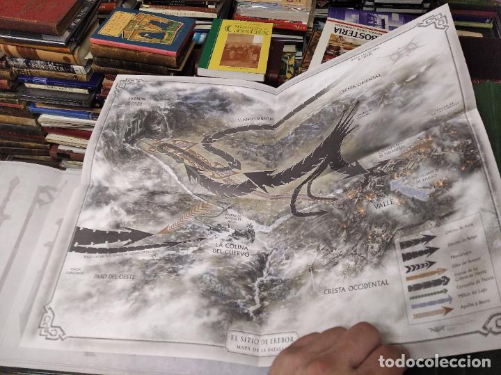 Libros de segunda mano: COLECCIÓN COMPLETA EL HOBBIT . CRÓNICAS . 6 TOMOS + MAPS OF TOLKIENS + EL MUNDO DE TOLKIEN - Foto 136 - 210151335