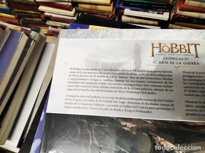 Libros de segunda mano: COLECCIÓN COMPLETA EL HOBBIT . CRÓNICAS . 6 TOMOS + MAPS OF TOLKIENS + EL MUNDO DE TOLKIEN - Foto 139 - 210151335