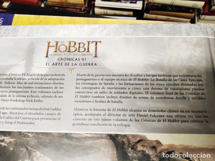 Libros de segunda mano: COLECCIÓN COMPLETA EL HOBBIT . CRÓNICAS . 6 TOMOS + MAPS OF TOLKIENS + EL MUNDO DE TOLKIEN - Foto 140 - 210151335