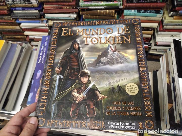 Libros de segunda mano: COLECCIÓN COMPLETA EL HOBBIT . CRÓNICAS . 6 TOMOS + MAPS OF TOLKIENS + EL MUNDO DE TOLKIEN - Foto 141 - 210151335