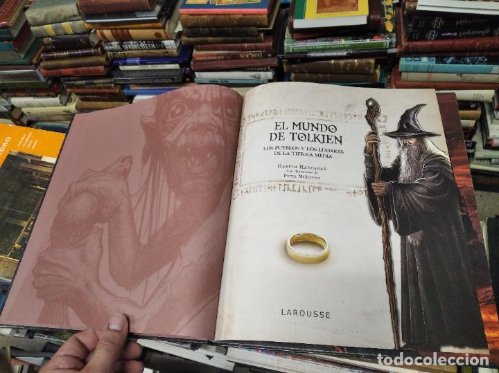 Libros de segunda mano: COLECCIÓN COMPLETA EL HOBBIT . CRÓNICAS . 6 TOMOS + MAPS OF TOLKIENS + EL MUNDO DE TOLKIEN - Foto 143 - 210151335