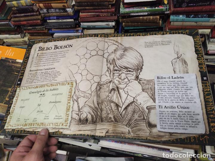 Libros de segunda mano: COLECCIÓN COMPLETA EL HOBBIT . CRÓNICAS . 6 TOMOS + MAPS OF TOLKIENS + EL MUNDO DE TOLKIEN - Foto 147 - 210151335