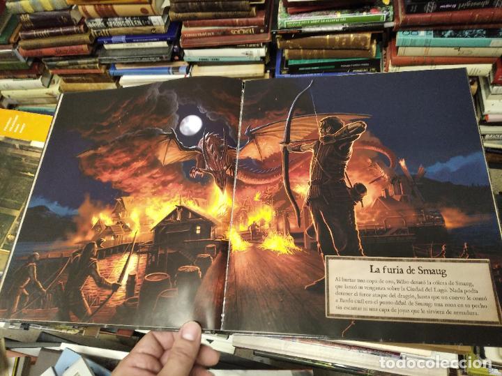 Libros de segunda mano: COLECCIÓN COMPLETA EL HOBBIT . CRÓNICAS . 6 TOMOS + MAPS OF TOLKIENS + EL MUNDO DE TOLKIEN - Foto 149 - 210151335
