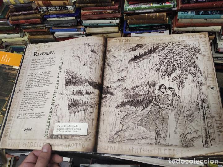 Libros de segunda mano: COLECCIÓN COMPLETA EL HOBBIT . CRÓNICAS . 6 TOMOS + MAPS OF TOLKIENS + EL MUNDO DE TOLKIEN - Foto 150 - 210151335