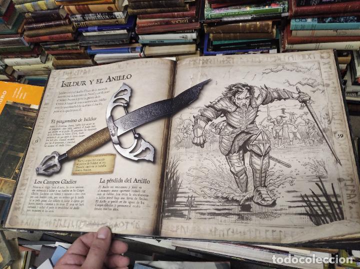 Libros de segunda mano: COLECCIÓN COMPLETA EL HOBBIT . CRÓNICAS . 6 TOMOS + MAPS OF TOLKIENS + EL MUNDO DE TOLKIEN - Foto 155 - 210151335