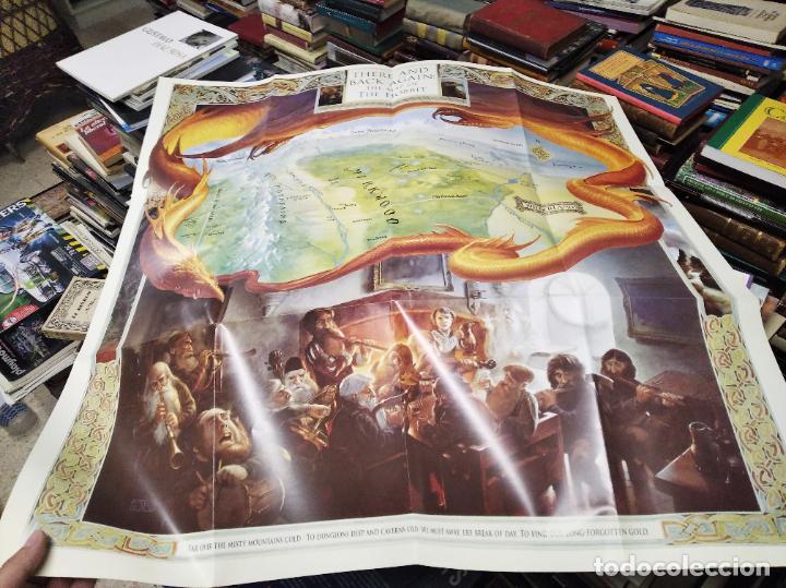 Libros de segunda mano: COLECCIÓN COMPLETA EL HOBBIT . CRÓNICAS . 6 TOMOS + MAPS OF TOLKIENS + EL MUNDO DE TOLKIEN - Foto 162 - 210151335