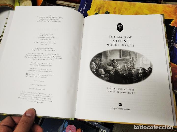 Libros de segunda mano: COLECCIÓN COMPLETA EL HOBBIT . CRÓNICAS . 6 TOMOS + MAPS OF TOLKIENS + EL MUNDO DE TOLKIEN - Foto 166 - 210151335