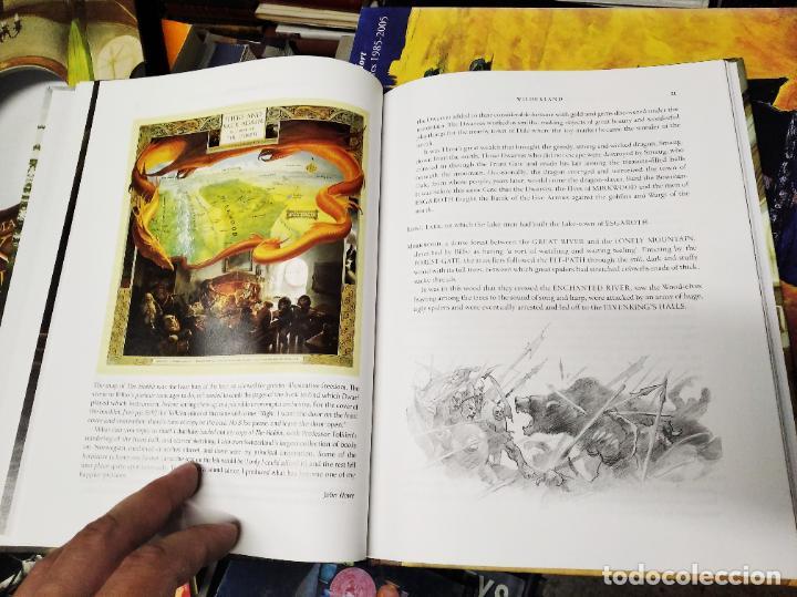 Libros de segunda mano: COLECCIÓN COMPLETA EL HOBBIT . CRÓNICAS . 6 TOMOS + MAPS OF TOLKIENS + EL MUNDO DE TOLKIEN - Foto 169 - 210151335