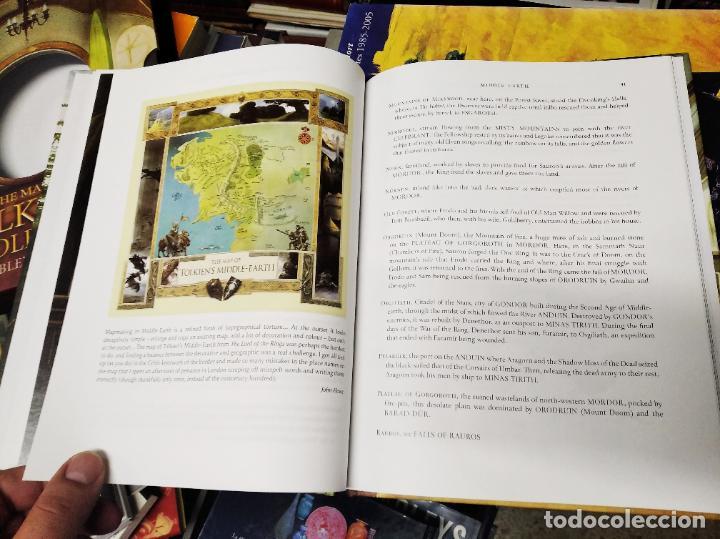 Libros de segunda mano: COLECCIÓN COMPLETA EL HOBBIT . CRÓNICAS . 6 TOMOS + MAPS OF TOLKIENS + EL MUNDO DE TOLKIEN - Foto 170 - 210151335