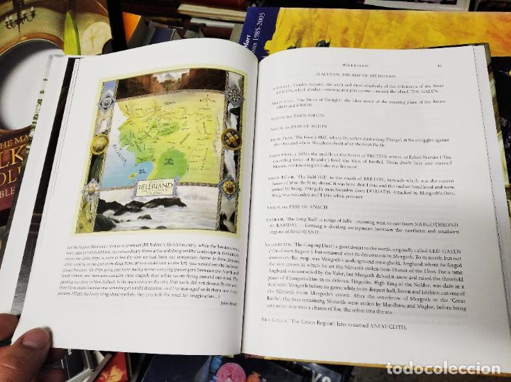 Libros de segunda mano: COLECCIÓN COMPLETA EL HOBBIT . CRÓNICAS . 6 TOMOS + MAPS OF TOLKIENS + EL MUNDO DE TOLKIEN - Foto 172 - 210151335