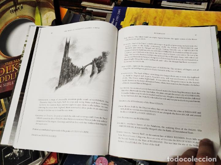 Libros de segunda mano: COLECCIÓN COMPLETA EL HOBBIT . CRÓNICAS . 6 TOMOS + MAPS OF TOLKIENS + EL MUNDO DE TOLKIEN - Foto 173 - 210151335