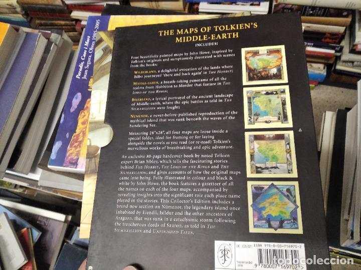Libros de segunda mano: COLECCIÓN COMPLETA EL HOBBIT . CRÓNICAS . 6 TOMOS + MAPS OF TOLKIENS + EL MUNDO DE TOLKIEN - Foto 176 - 210151335