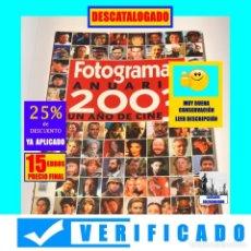 Libros de segunda mano: FOTOGRAMAS ANUARIO 2003 - UN AÑO DE CINE - MUY BUEN ESTADO - VERIFICADO - 15 EUROS FINAL. Lote 210459281