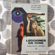 Libros de segunda mano: LECCIONES DE CINE. HISTORIA, ESTÉTICA Y SOCIOLÓGIA. TOMO II. Lote 210465577