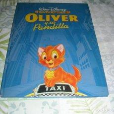 Libros de segunda mano: OLIVER Y SU PANDILLA , WALT DISNEY , LOS CLASICOS. Lote 210961984