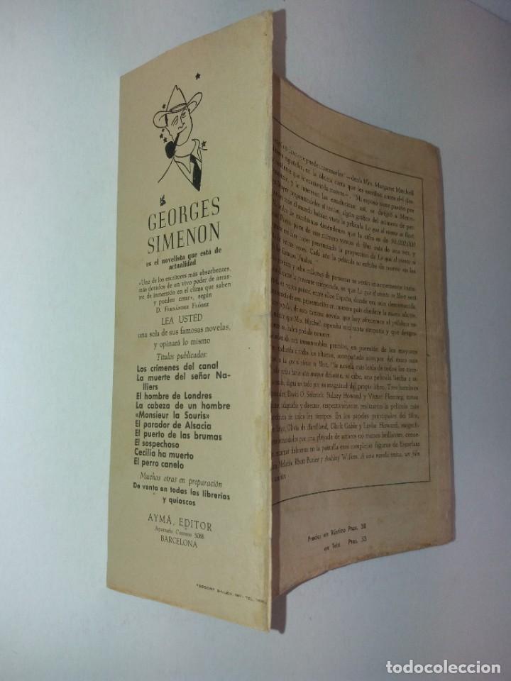 Libros de segunda mano: LEGENDARIA LO QUE EL VIENTO SE LLEVO 32 LAMINAS METRO GOLDWYNG MAYER MAS DE 70 AÑOS - Foto 37 - 212072450