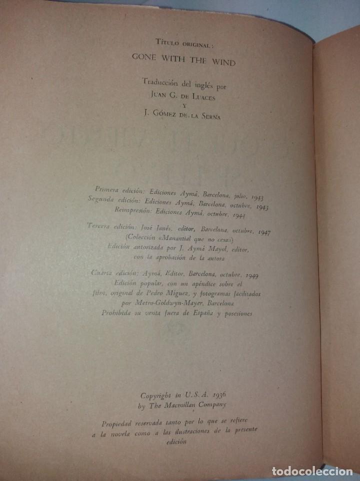 Libros de segunda mano: LEGENDARIA LO QUE EL VIENTO SE LLEVO 32 LAMINAS METRO GOLDWYNG MAYER MAS DE 70 AÑOS - Foto 38 - 212072450