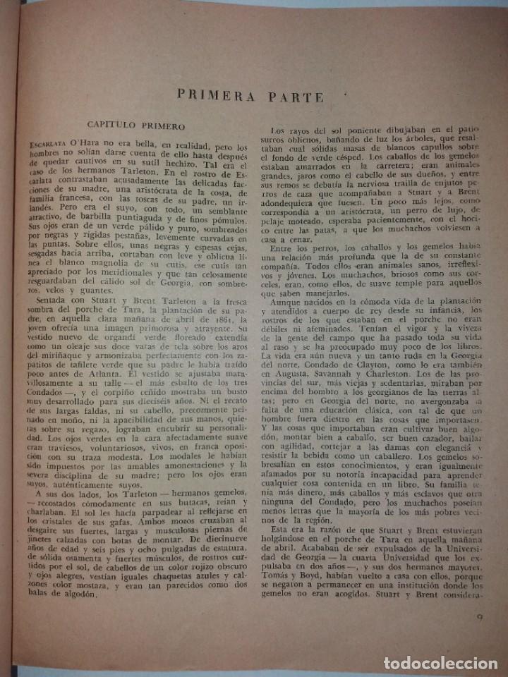 Libros de segunda mano: LEGENDARIA LO QUE EL VIENTO SE LLEVO 32 LAMINAS METRO GOLDWYNG MAYER MAS DE 70 AÑOS - Foto 39 - 212072450