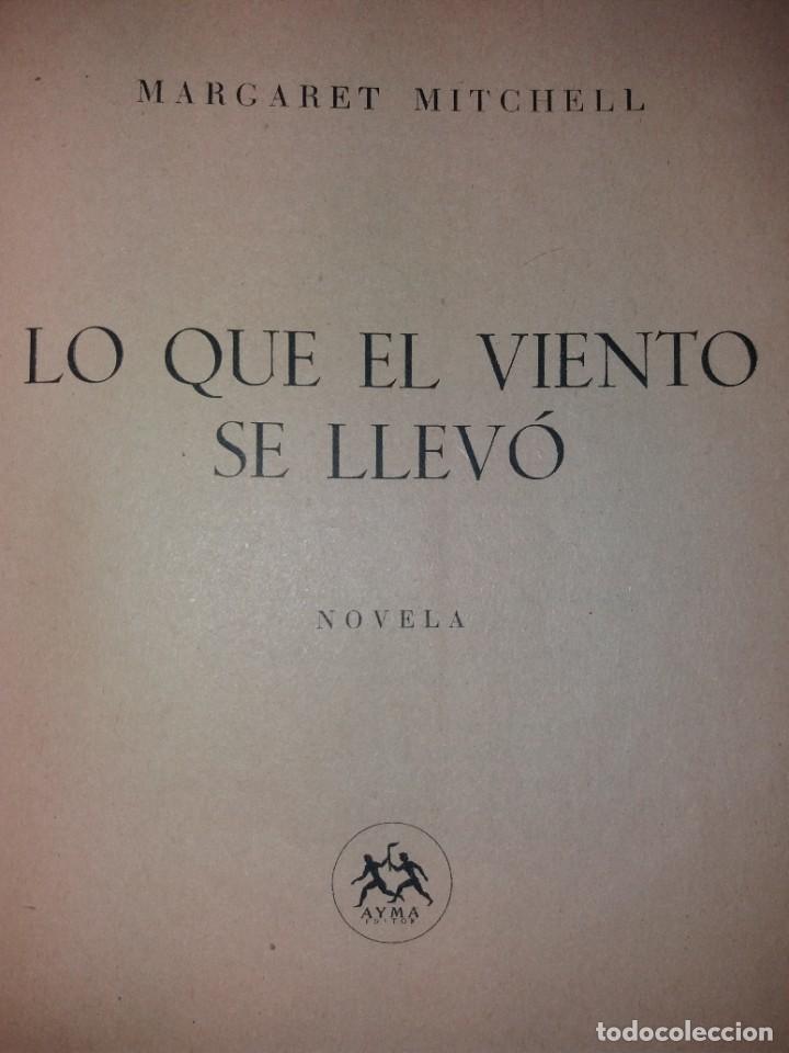 Libros de segunda mano: LEGENDARIA LO QUE EL VIENTO SE LLEVO 32 LAMINAS METRO GOLDWYNG MAYER MAS DE 70 AÑOS - Foto 43 - 212072450
