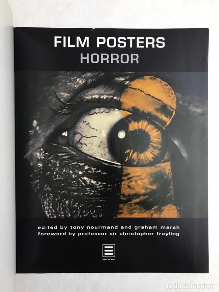 Libros de segunda mano: FILM POSTERS HORROR. CARTELES DE CINE DE HORROR. - Foto 2 - 212411730