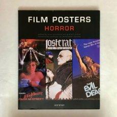Libros de segunda mano: FILM POSTERS HORROR. CARTELES DE CINE DE HORROR.. Lote 212411730