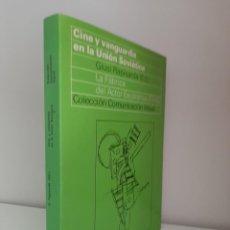 Libros de segunda mano: CINE Y VANGUARDIA EN LA UNION SOVIETICA, GIUSI RAPISARDA, CINE / CINEMA, GUSTAVO GILI, 1975. Lote 213403662