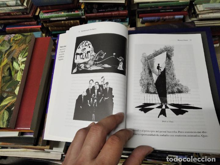 Libros de segunda mano: TIM BURTON POR TIM BURTON .MARK SALISBURY,EDITOR. PRÓLOGO JOHNNY DEPP . EDITORIAL ALBA . 2012 - Foto 7 - 213769866