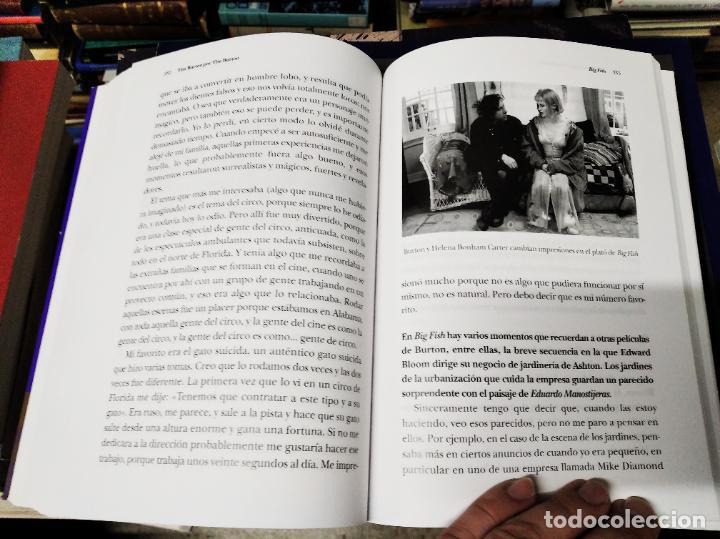 Libros de segunda mano: TIM BURTON POR TIM BURTON .MARK SALISBURY,EDITOR. PRÓLOGO JOHNNY DEPP . EDITORIAL ALBA . 2012 - Foto 19 - 213769866