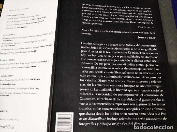 Libros de segunda mano: TIM BURTON POR TIM BURTON .MARK SALISBURY,EDITOR. PRÓLOGO JOHNNY DEPP . EDITORIAL ALBA . 2012 - Foto 25 - 213769866