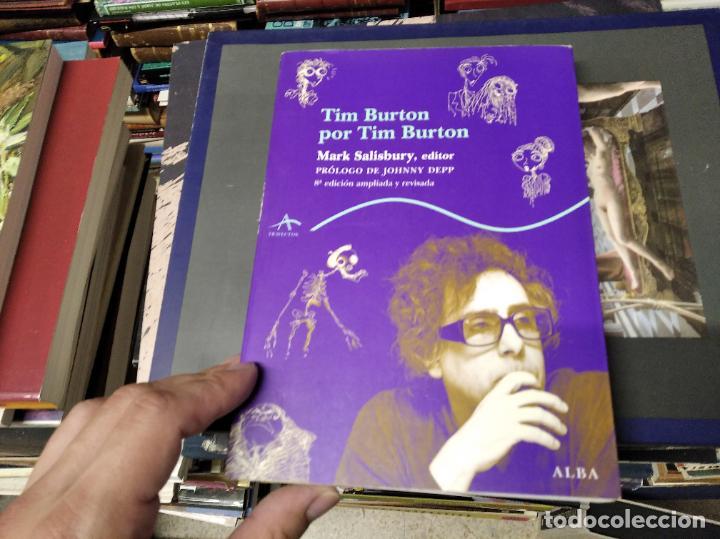 TIM BURTON POR TIM BURTON .MARK SALISBURY,EDITOR. PRÓLOGO JOHNNY DEPP . EDITORIAL ALBA . 2012 (Libros de Segunda Mano - Bellas artes, ocio y coleccionismo - Cine)