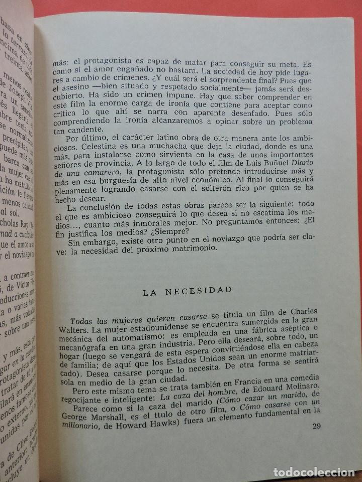 Libros de segunda mano: Matrimonio y cine. PUERTO, Carlos. Editorial Alameda. Madrid 1969. - Foto 3 - 213771588
