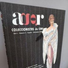 Libros de segunda mano: REVISTA AGR, COLECCIONISTAS DE CINE, ANO I, Nº 4, DICIEMBRE 1999, CINE / CINEMA, EL GRAN CAID, 1999. Lote 213964845