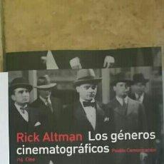 Libros de segunda mano: LOS GENEROS CINEMATOGRAFICOS RICK ALTMAN. Lote 214309833