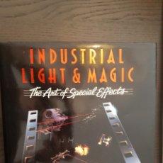 Libros de segunda mano: LIBRO - INDUSTRIAL LIGHT AND MAGIC - THE ART & SPECIAL EFFECTS - (A DEL REY BOOK) (INGLÉS) TAPA DURA. Lote 214637475