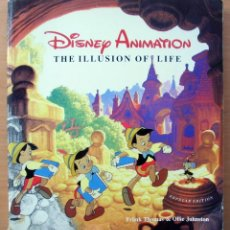 Libros de segunda mano: DISNEY ANIMATION: THE ILLUSION OF LIFE. PRIMERA EDICION 1984.. Lote 214761750