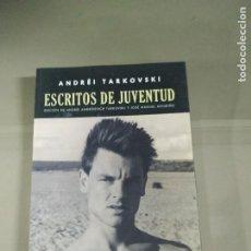 Libros de segunda mano: ESCRITOS DE JUVENTUD - ANDREI TARKOVSKI. ABDA EDITORES.. Lote 214778685