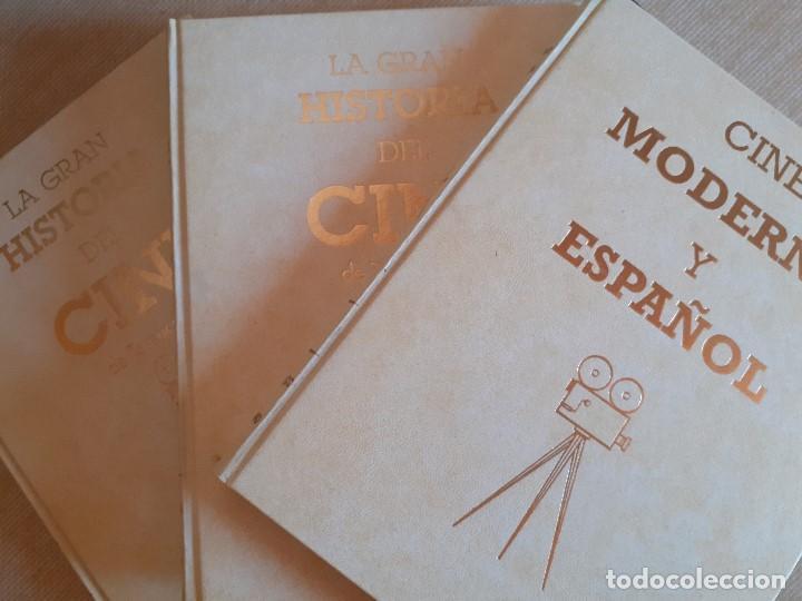 LA GRAN HISTORIA DEL CINE / TERENCI MOIX 2 TOMOS + CINE MODERNO ESPAÑOL (Libros de Segunda Mano - Bellas artes, ocio y coleccionismo - Cine)