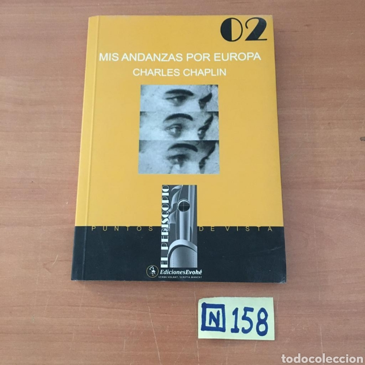 CHARLES CHAPLIN MIS ANDANZAS POR EUROPA (Libros de Segunda Mano - Bellas artes, ocio y coleccionismo - Cine)