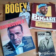 Libros de segunda mano: HUMPHREY BOGART X 4 LIBROS. Lote 216418238