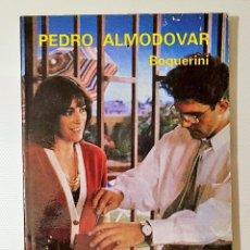 Libros de segunda mano: PEDRO ALMODOVAR. BOQUERINI. EDICIONES JC, 1989, COLECCIÓN DIRECTORES DE CINE,. Lote 216851206