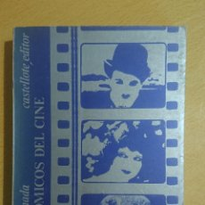 Libros de segunda mano: TRES CÓMICOS DEL CINE · CHARLOT · CLARA BOW · HAROLD LLOYD · CESAR ARCONADA · CASTELLOTE EDITOR 1974. Lote 217802383