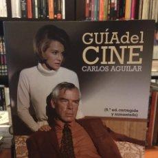 Libros de segunda mano: GUÍA DEL CINE CARLOS AGUILAR (6ª EDICIÓN AUMENTADA Y CORREGIDA). CÁTEDRA. Lote 218062418