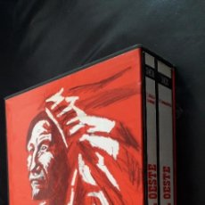 Libros de segunda mano: AL OESTE, I. ARTÍCULOS DE ENCARGO / II. DOCUMENTACIÓN (2 TOMOS) - CENTRO CULTURAL CAMPOAMOR - OVIEDO. Lote 218172647