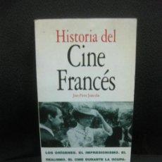 Libros de segunda mano: HISTORIA DEL CINE FRANCES. JEAN-PIERRE JEANCOLAS. EDITORIAL ACENTO 1997.. Lote 218573872