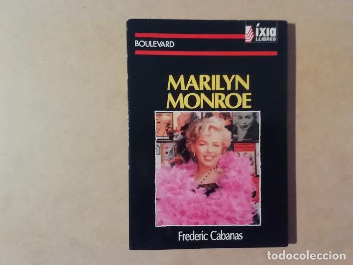 MARILYN MONROE - FREDERIC CABANAS - 1ª EDICIÓ - ÍXIA LLIBRES -(M7) (Libros de Segunda Mano - Bellas artes, ocio y coleccionismo - Cine)