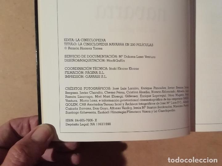 Libros de segunda mano: LA CINECLOPEDIA NAVARRA EN 200 PELÍCULAS - RAMÓN HERRERA -(M7) - Foto 4 - 218753335
